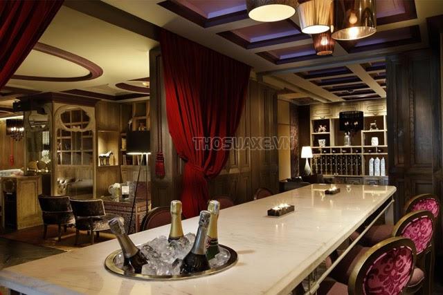 Không gian bên trong của Boudoir Lounge